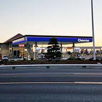Chevron fuels plaza
